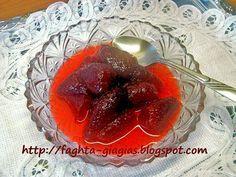 Φράουλα γλυκό του κουταλιού - από «Τα φαγητά της γιαγιάς»