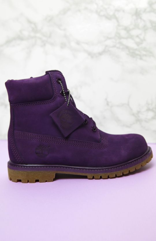 Innovative Timberland Merlot Authentics RollTop Boots In Purple Merlot  Lyst