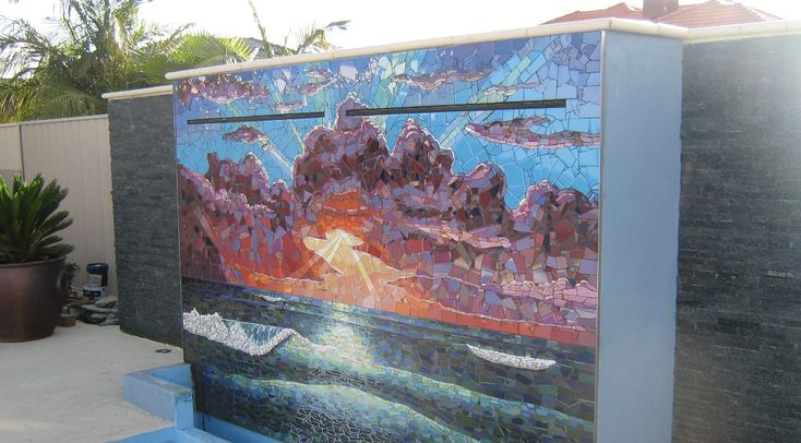 Mosaics Perth, Amazing Paintings Perth, Water Features Perth, Mosaic Artist Perth, Ocean