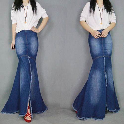 Картинки по запросу pollera mini recta de jeans con moldes