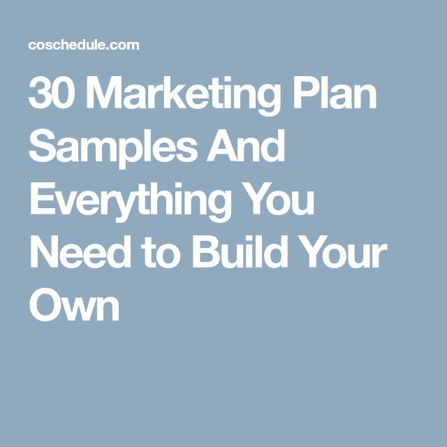 Best 25+ Marketing plan template ideas on Pinterest - making smart marketing plan