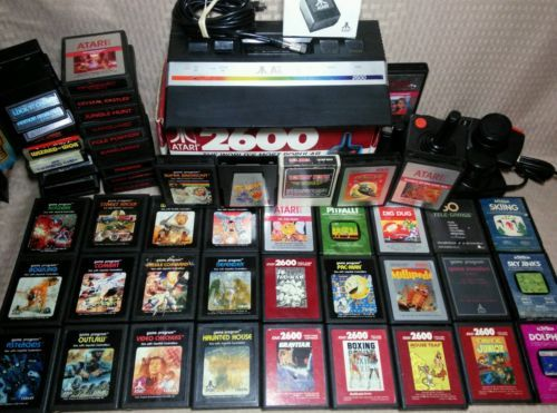 Vintage Atari 2600 JR Console Lot 52 Games Pac Man Q Bert Donkey Kong Breakout: $229.95 End Date: Sunday Oct-15-2017 4:18:34 PDT Buy It Now…