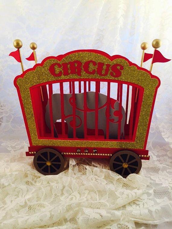 Circus Birthday Party - Circus Centerpiece - Circus Circus - Circus Party Decorations - Customized Circus Decor - Circus Animals - Carnival
