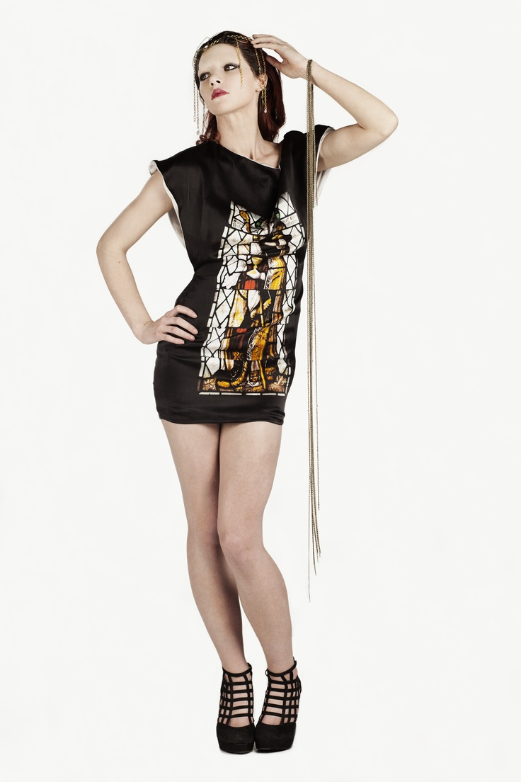 Fashion and Textile Design: Ruth Gaunt [photographer Justyna Kloch retoucher Liliya Ivanova]