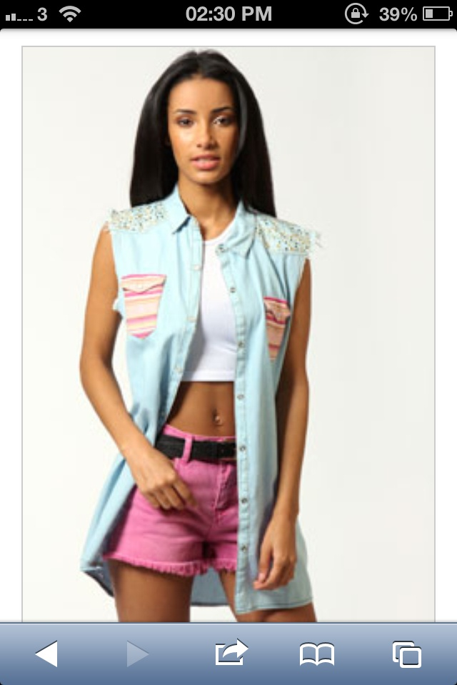 Competition entry for #boohoo #denimdaze  love, want, need.