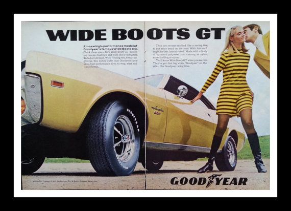 68 Yellow Javelin Ad Mod Boots Sweet Car Mag Ad Yellow Javelin Car
