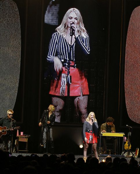 Miranda Lambert Photos Photos - Miranda Lambert performs onstage during the 2018 Miranda Lambert: Livin' Like Hippies Tour held at The Forum on February 10, 2018 in Inglewood, California. Miranda Lambert Performs at The Forum