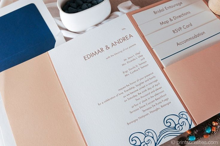 42 best letterpress images on pinterest bridal invitations edimar andrea wedding invitation by printsonalities stopboris Choice Image