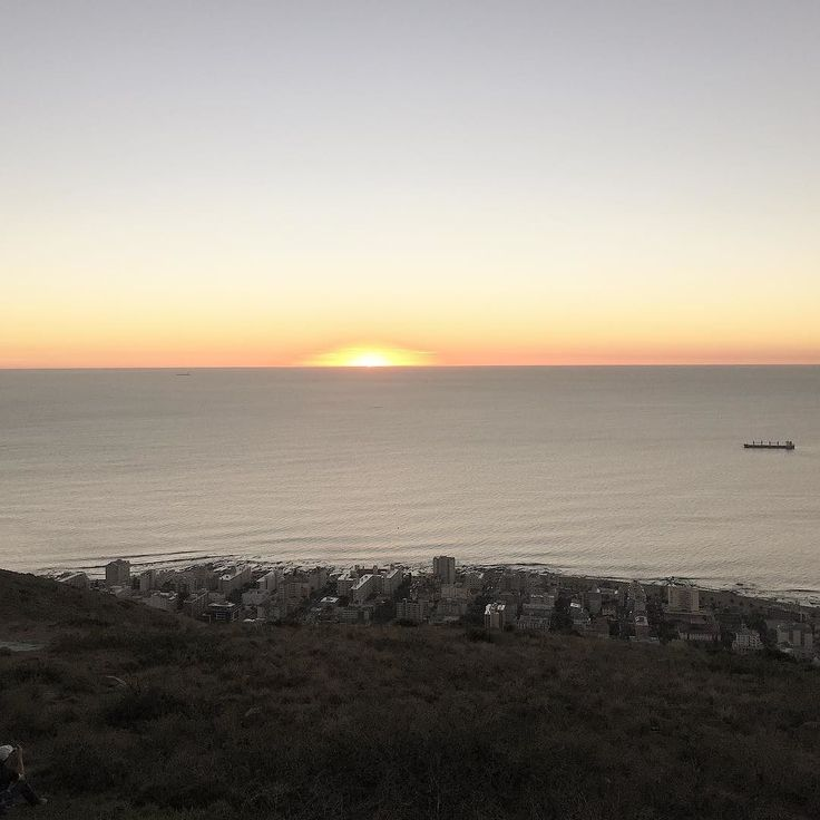 Sunset from Signal Hill #CapeTown
