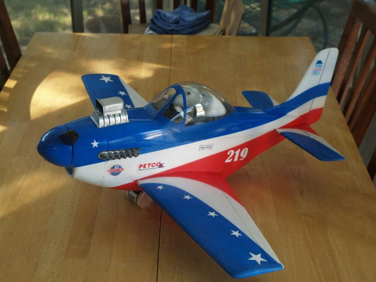 One Of The Fancy P 51 Caricature Rc Airplane Models By