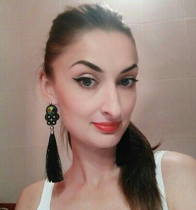 tassels soutache earrings