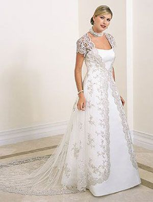 I am not a fan of the actual dress itself, but I love the lace overlay. I think that goes with the winter wonderland theme because it has a silver look to it!