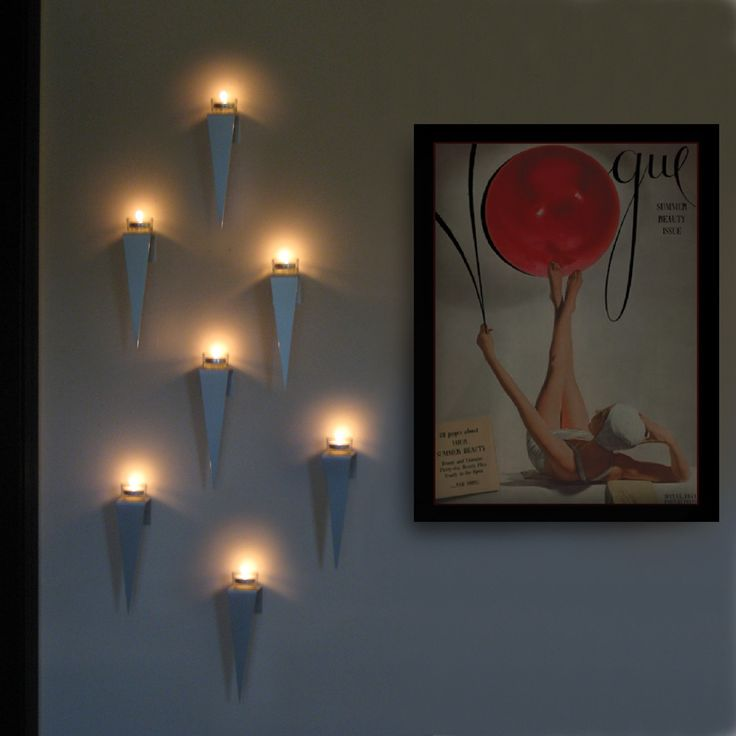 17 Best Images About Wall Tealight Candle Holder On