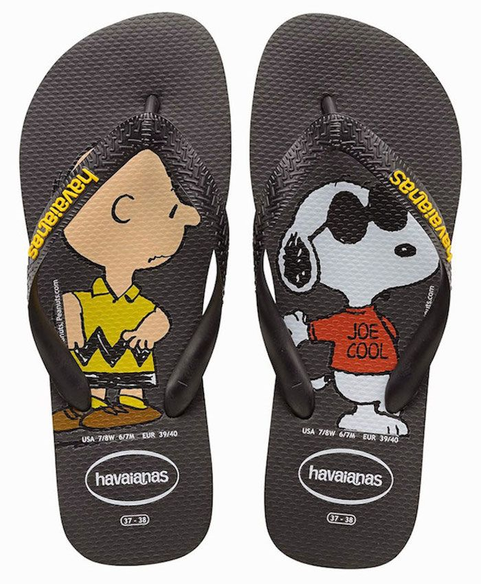 Havaianas da Turma do Charlie Brown