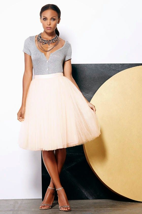 Yes, YOU Can Wear a Tulle Skirt!