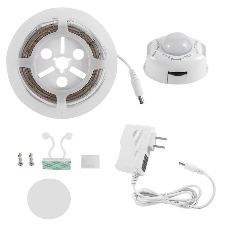 Waterproof LED Sensor Strips Digital Bed-lighting Acttivated Illumination with Body Sensor 1.2M 30LED White/Warm White Quality #Affiliate