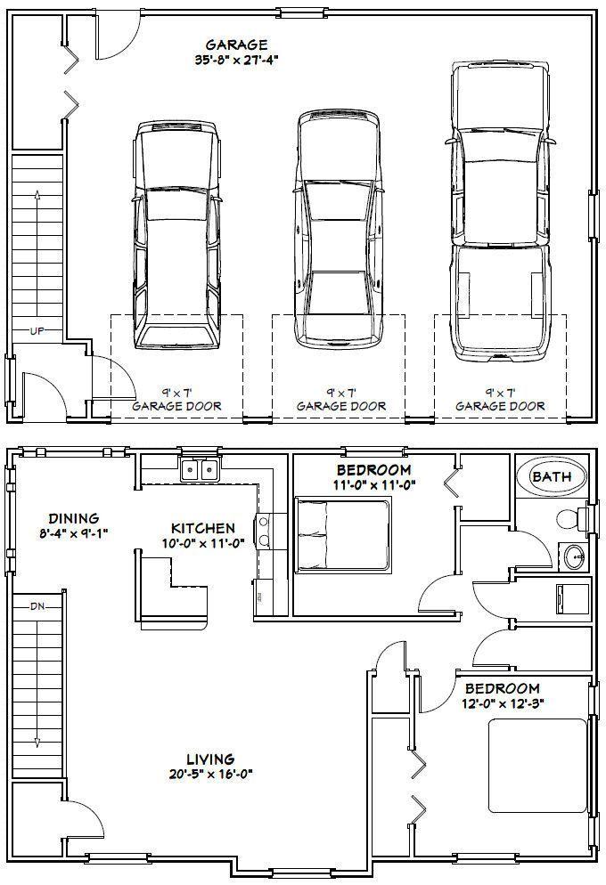 3 Car Garage Apartment Floor Plan Carriage House Plans Garage Floor Plans Garage Apartment Plans