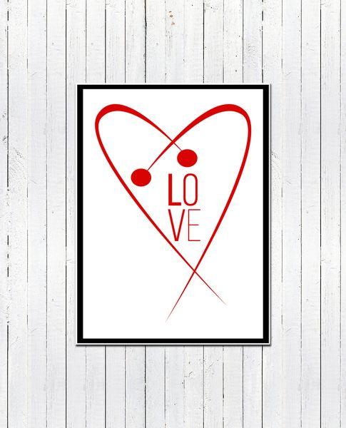 PLAKAT/OBRAZ - Love in the universe