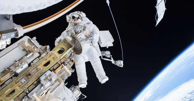 NASA astronauts are venturing out into space to install a component key to the…