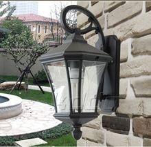 Европейский открытый огни дождь стены наружное освещение сада открытый водонепроницаемый настенные светильники балкон огни Tingyuan Дэн