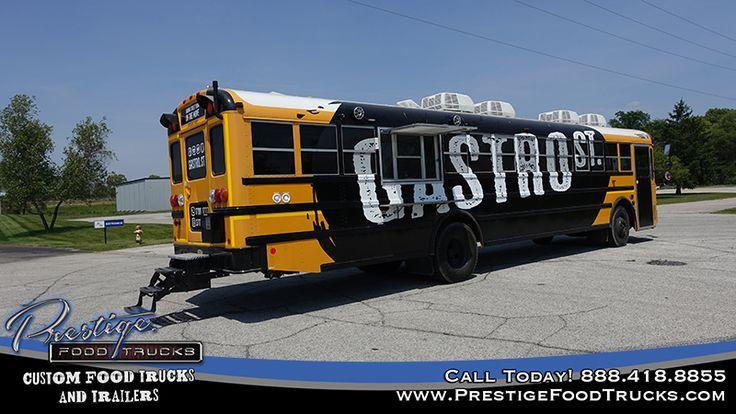 Gastro St. School Bus Food Truck | Custom Food Truck Builder & Manufacturer | Food Trucks For Sale | Concession Trailers | Finance, Buy & Lease Food Trucks