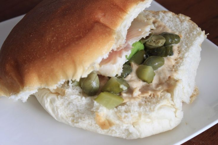 Forel tonijn broodje favoriete vis broodjes #vis #recept #brood #lunch #foodblog #foodinista