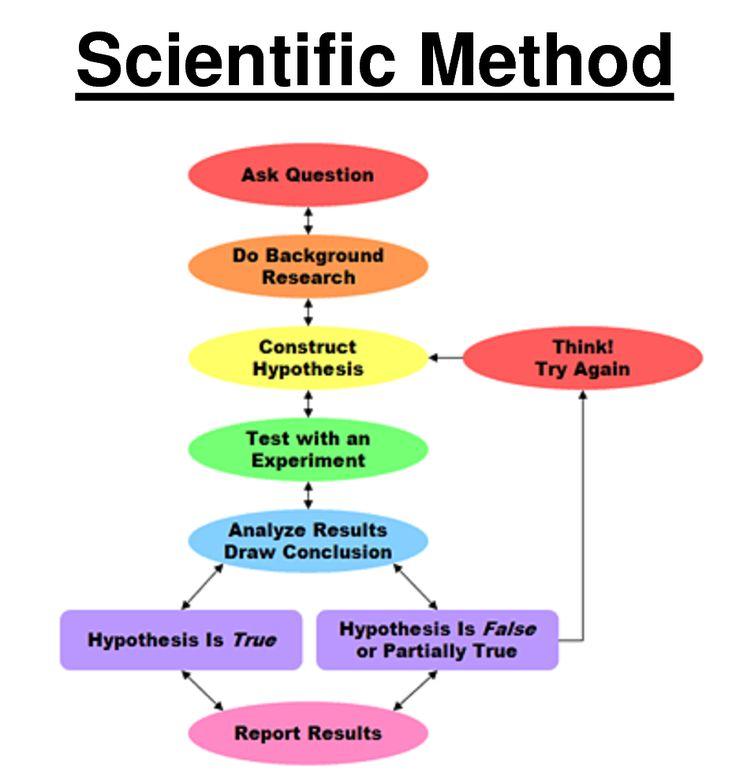Science Physics Methods: Scientific-method Graphic Organizer