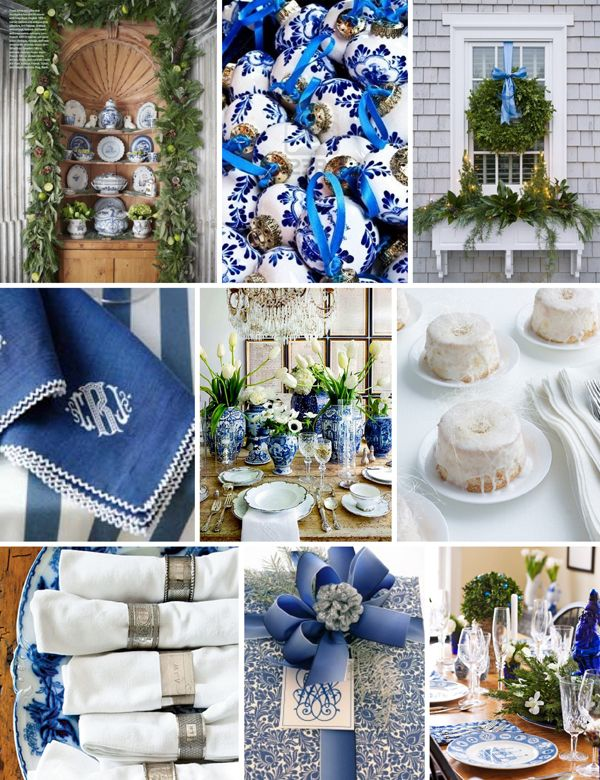 A Blue And White Christmas
