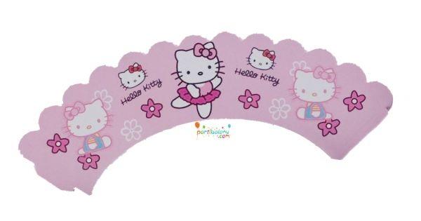 Hello Kitty Cupcake Süsü Hello Kitty Kek Kabı Ürün ÖzellikleriÜrün Paketinde 10 Adet Hello Kitty Kek kalıbı süsü bulunur.Karton Hello Kitty Kek Sargıları Kaliteli baskı ve canlı renktir.Kap kek süsü keklerinizin etrafına sarılarak kullanılır.Hello Kitty Doğum günü konseptine uygun mükemmel bir üründü