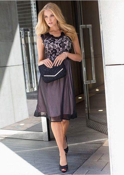 Šaty Elegantní šaty s aktuální krajkou • 649.0 Kč • Bon prix
