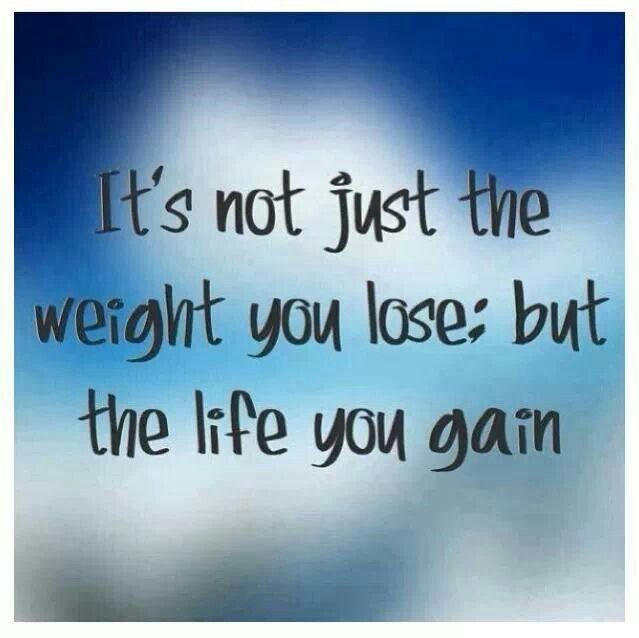 It's not just he weight you lose: but the life you gain #healthyquotes #okgethealthy