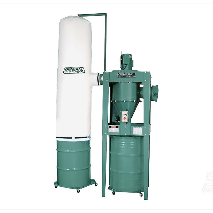 General International 3 HP 2-Stage Industrial Dust Collector