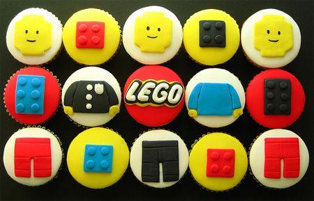Lego Cupcakes! #cupcakes