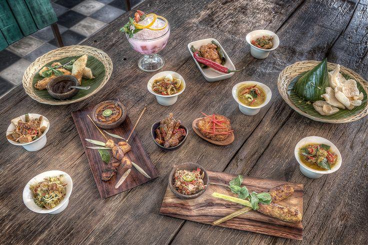 Balique Vintage Café/Restaurant - Jimbaran  Bali - Rijstafel Dishes -