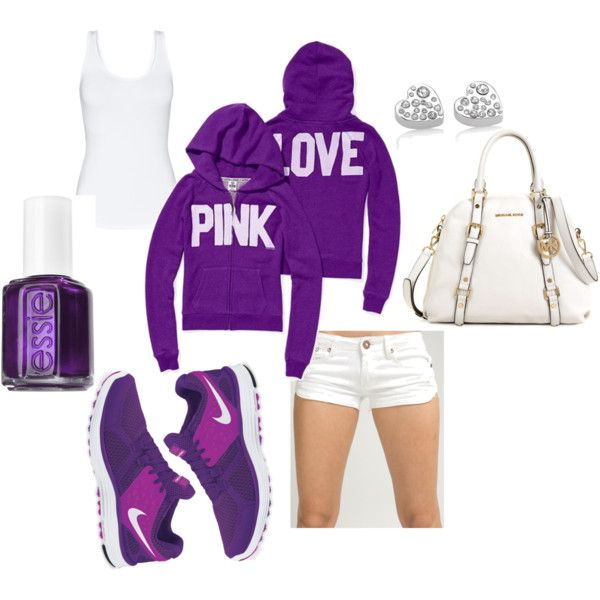 purple & white comfy day, created by aalliiee.polyvore.com
