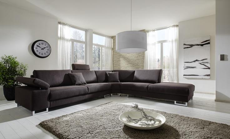 Hoekbank Wing XXL, Grote comfortabele hoekbank, verkrijgbaar in vele opstellingen. Hoekbank zoals op deze foto is leverbaar v.a € 945,-