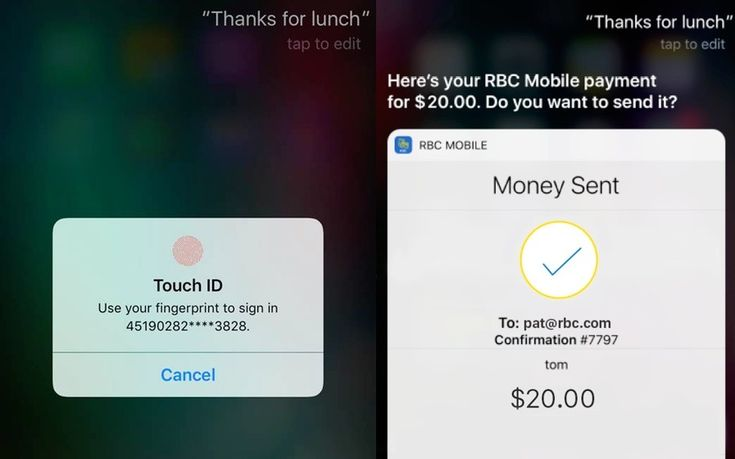 RBC iOS app update adds pay-by-voice commands to Apple's Siri #AppleNews #TechNews