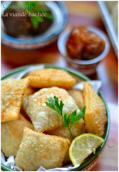 Chaussons à la viande hachée البف بالمفرومة   Cuisine Du Maroc et D'ailleurs