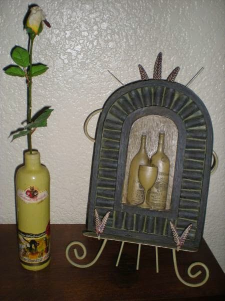 Zeller Schwarze Katz Vintage Crock Wine Bottle