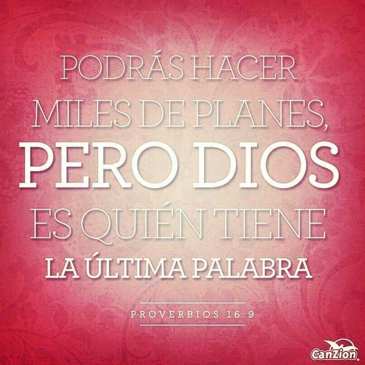 Dios siempre tiene la ultima palabra……. #Bendicion #Dios #amor #love #God
