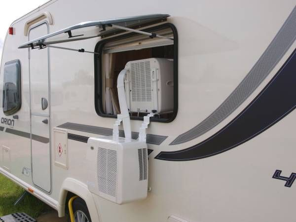 Portable Air Conditioning From Cool My Camper Shown On A