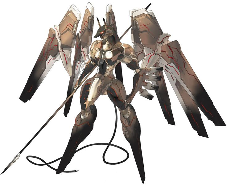 Anubis Art | Anubis - Characters  Art - Zone of the Enders: The 2nd Runner