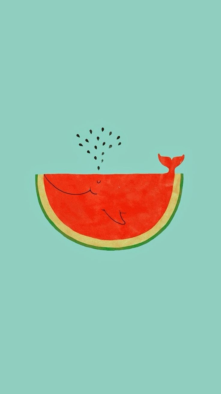 for you soph!!! watermelon whale