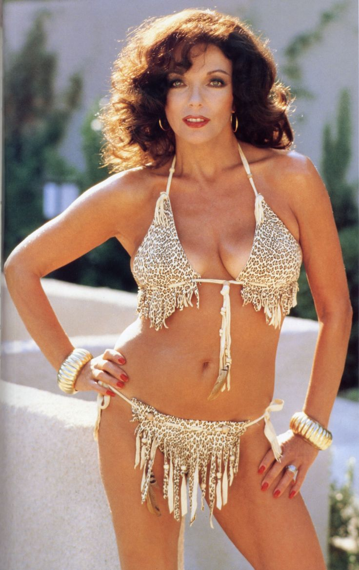 Joan collins, Vintage swimsuits and Leopard prints on ...