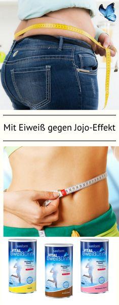 Auch nach einer Diät hilft Eiweiß langfristig schlank zu bleiben. Eine eiweißreiche Kost verhindert den Abbau wertvoller Muskelmasse während der Diät, dadurch bleibt der Stoffwechsel aktiv und JoJo-Effekte nach dem Abnehmen können besser verhindert werden.