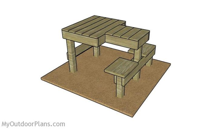 Free shooting bench plans
