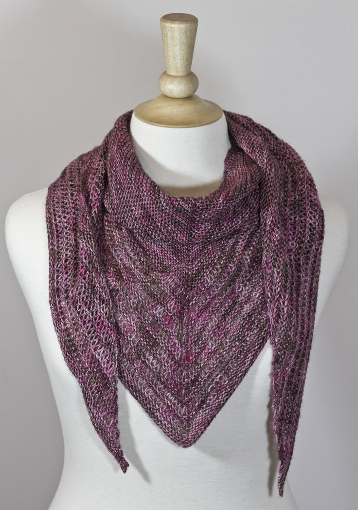 Knitting Patterns For Scarves Using Sock Yarn : One skein of sock yarn, one stitch marker and 4mm needles! Good sized scarf! ...
