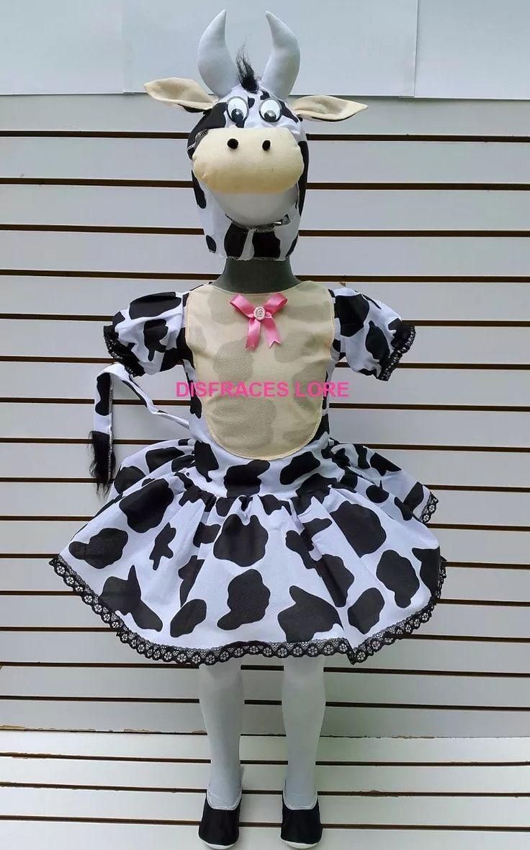 disfraz tutu vaca con mallas disfraces vaquita pastorelas