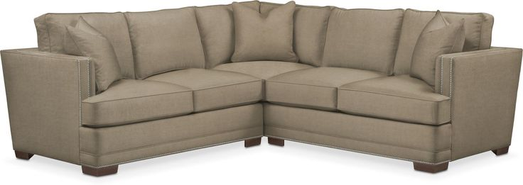 Arden 2 Pc. Sectional With Right Arm Facing Loveseat- Comfort In Statley L Mondo