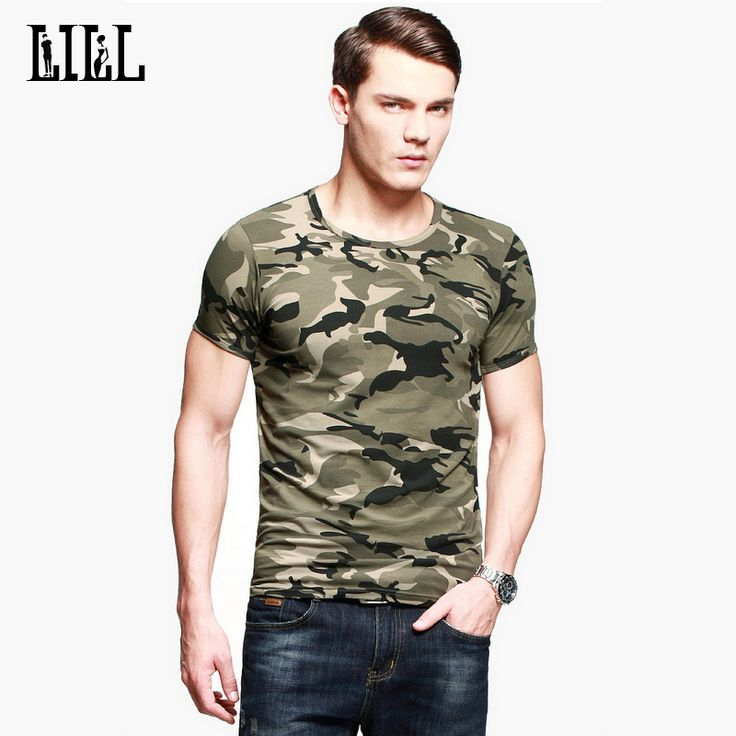 mens fashion casual LILL | Cotton Camouflage Men's T-Shirt O-Neck Women Summer Breathable Military Style T Shirt Men Army Tactical T-ShirtsUMA425 -*- AliExpress Affiliate's buyable pin. Details on product can be viewed on www.aliexpress.com by clicking the VISIT button